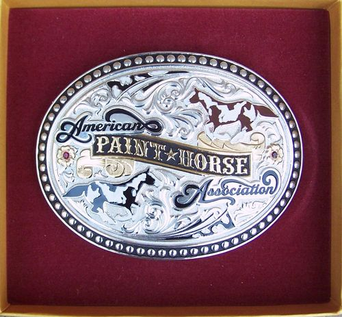"Buckle ""Paint Horse APHA"""