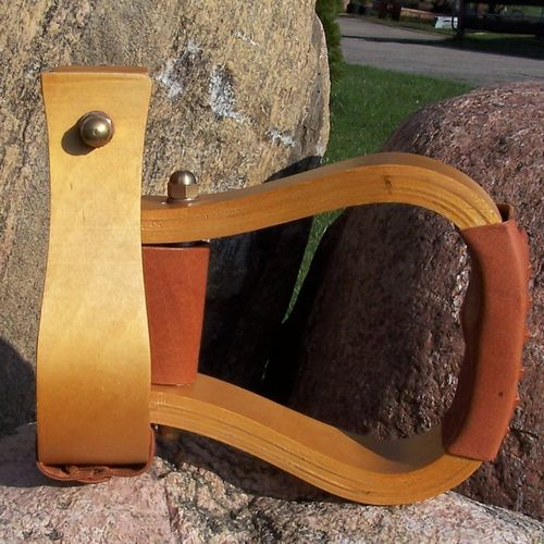 "Wood Stirrups ""Basic Light"""