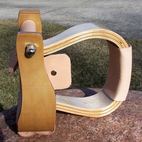 "Wooden Stirrups ""Anatomical Shape"""