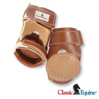Classic Equine Leather Skid Boots