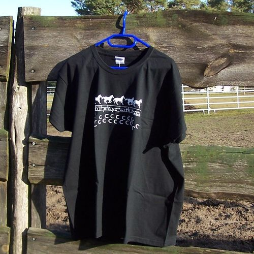 "Cowboy Brand Shirt ""Still plays with Horses"""