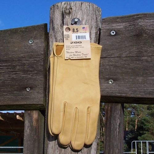 "Deluxe Geier-Gloves Deerskin ""Summer"" without Lining in Sizes"