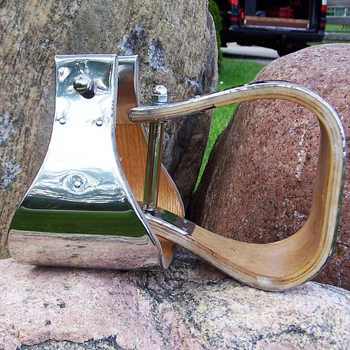 "Buckaroo Stirrups ""Stainless Steel"""