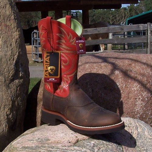"Women´s Western Boots Heritage Crepe ""Burnt Orange"""