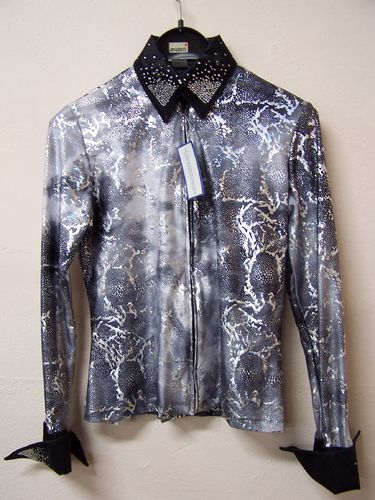 "Showbluse ""Silver Tree"""