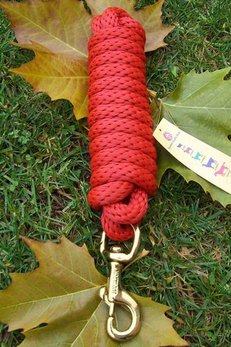 "Deluxe Hamilton Leadrope ""Red Brick"""