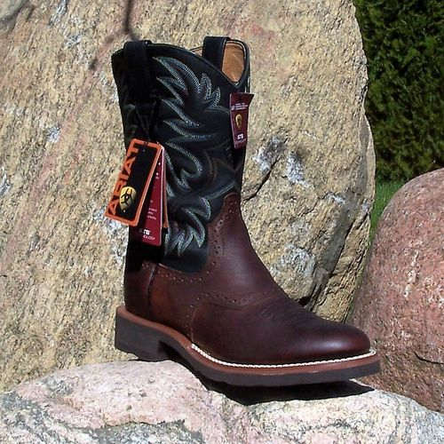 "Men´s Ariat Western-Boots ""Dark Copper/ Black"""