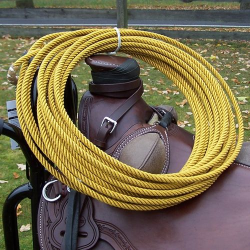 "Ranch Lasso ""Black Label Rope - Gold"" in Sizes"