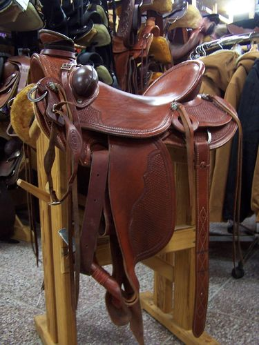 Wade Buckaroo Saddle