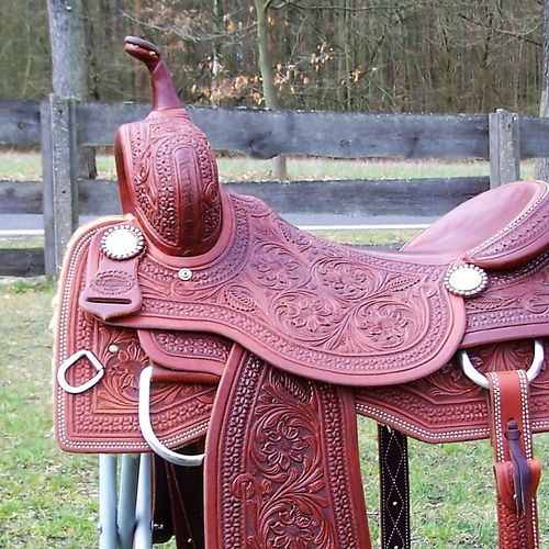 "FD Cutting Saddle Premium Silver ""First Class"""