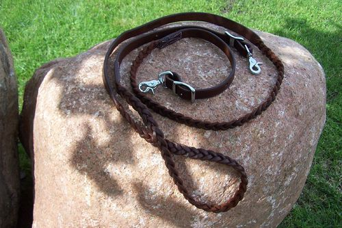 "Closed Reins ""Braided Long"""