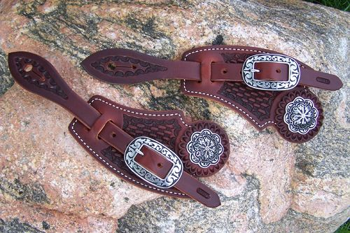 "Premium Spurstraps ""Cowboy Tradition"""