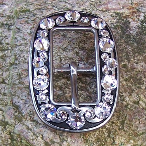 "Cart Buckle 5/8 ""Sparkling Star"""
