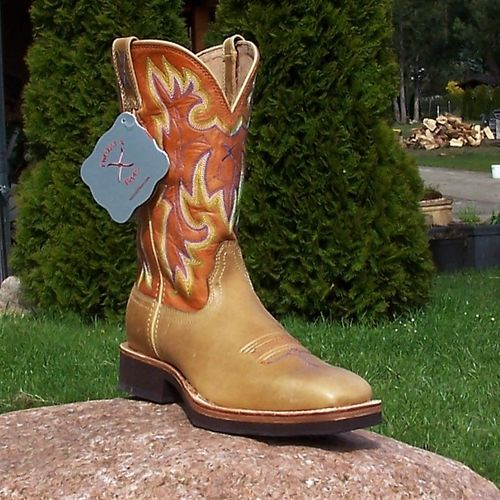 "Women´s Twisted X Boots ""Glazed Saddle/ Cognac"""