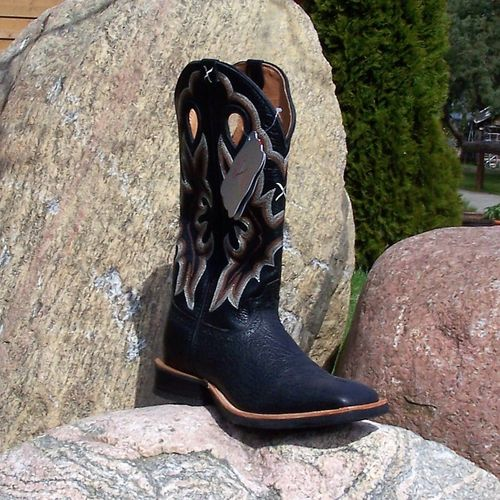 "Men´s Twisted X Western-Boots ""Only Black"""