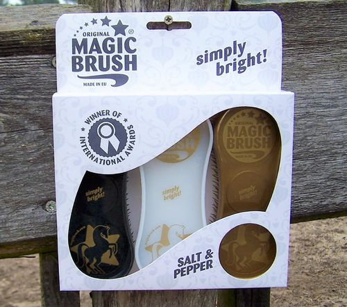 "Original Magic Brush ""Salt & Pepper"""