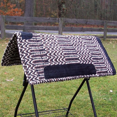 "Natur Woll Pad ""Double Weave"" in Farben"