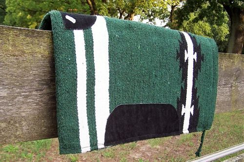 "Sandwich-Pad ""Little Western Dark Green"""