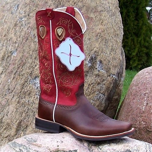 "Woman´s Twisted X Boots ""Saddle Red"""