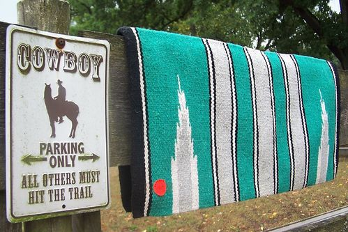 "Navajo Blanket ""Light Green"""