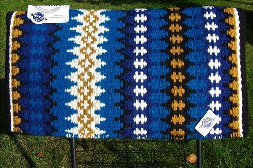 "Premium Show-Blanket ""Variations in Blue"""