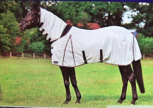 "Fly- and Paddock Sheet ""Silver Comfort"""
