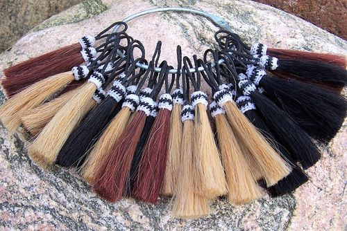 "Tassel aus Pferdehaar ""Only Nature - Colors"""