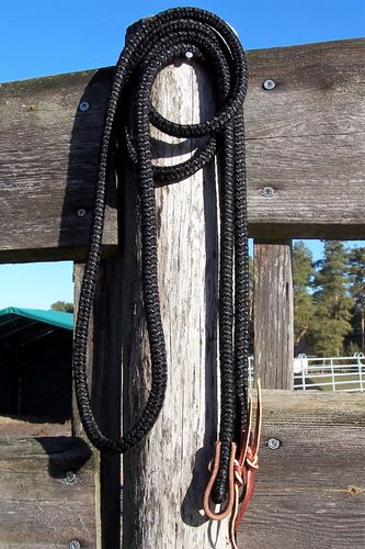 "Closed Reins 1/2 ""In Black"""