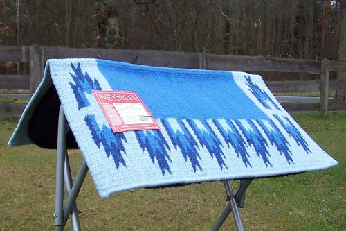 "Reinsman Show Blanket Short ""Navajo in Blue Variations"""