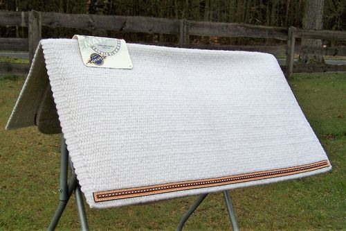 "Mayatex Show Blanket ""Wool, Leather and Dots"""