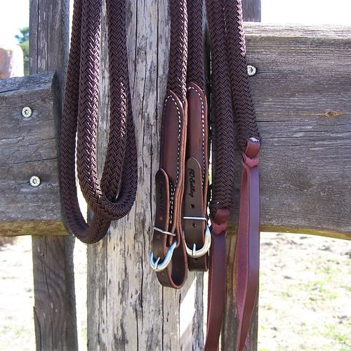 "Split Reins 5/8 ""Frankys Special in all Colors"""