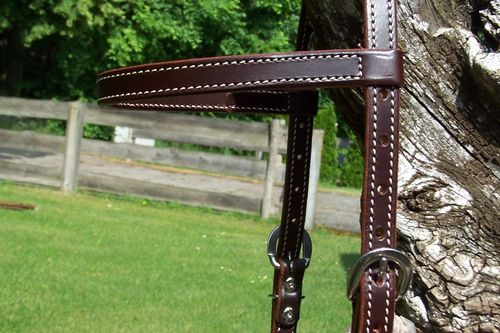 "Working Headstall ""Each Day1"" in all Sizes"