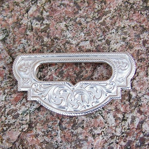 "Hobble Ring Plate ""Silver Ornamentic"""