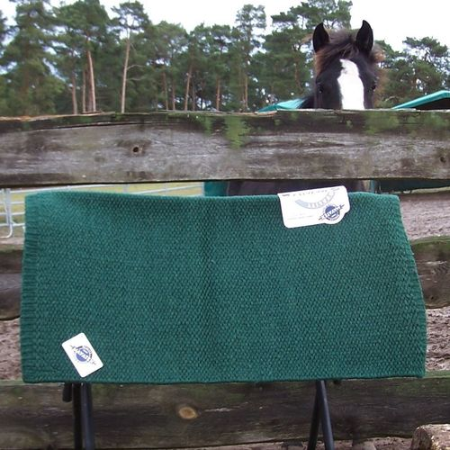 "Mayatex Show Blanket Standard ""San Juan Solid - Hunter Green Unicolor"""