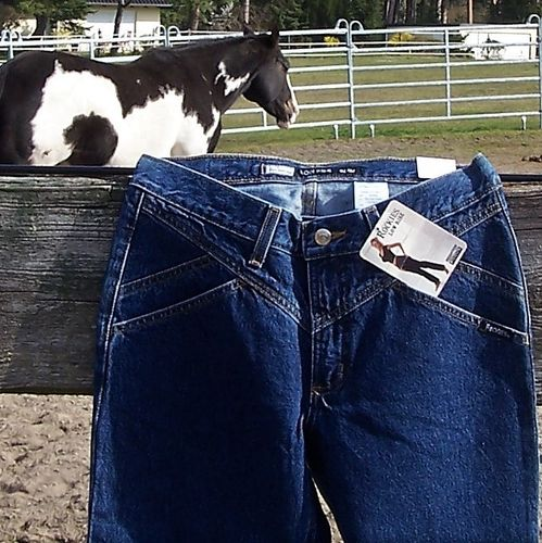 "Western-Jeans ""Rocky Mountain - Girl Blue 7/ Long"""