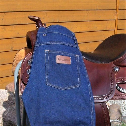 "Western-Jeans ""Continental Unisex Blue Stretch 32/ 34"""