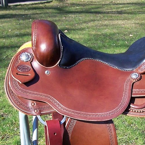 "FD Allround Saddle ""Hourglass Border - Alternative"""