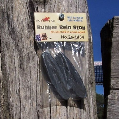 "Rein Tack ""Rubber Rein Stop"""